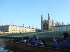 Being a tour guide for internatioanl students in Cambridge