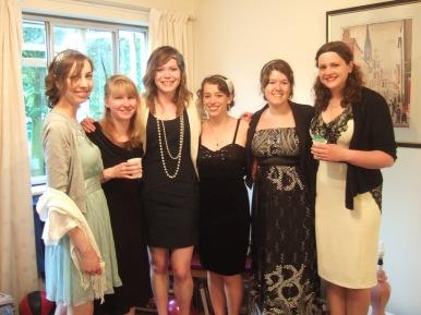 The girls I endured and enjoyed uni with