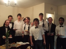 The boys looking dapper for a night of May Ball fun