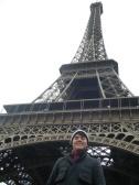Steve, the civil engineer (MA), in Paris