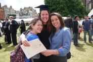 Celebrating achievements with close friends