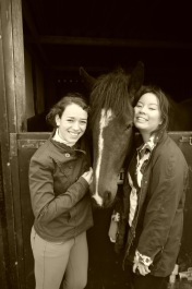 Rekindling my horseriding dreams - with Valerie and Libby