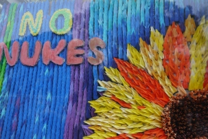 Colourful reminders of peace