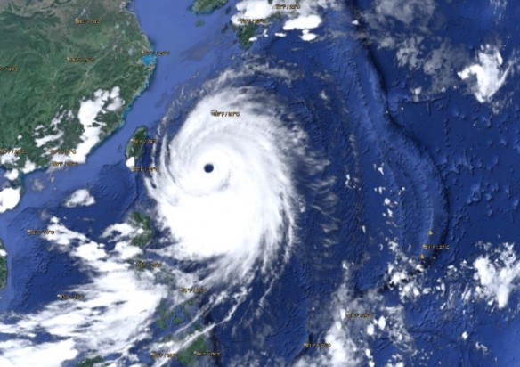 Super-typhoon Neoguri was predicted to be one of the strongest tropical storms in decades to hit Japan.